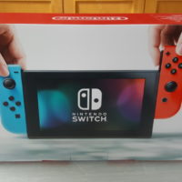 Nintendo Switch face arrière