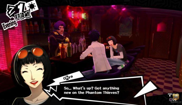 Persona 5 dialogue