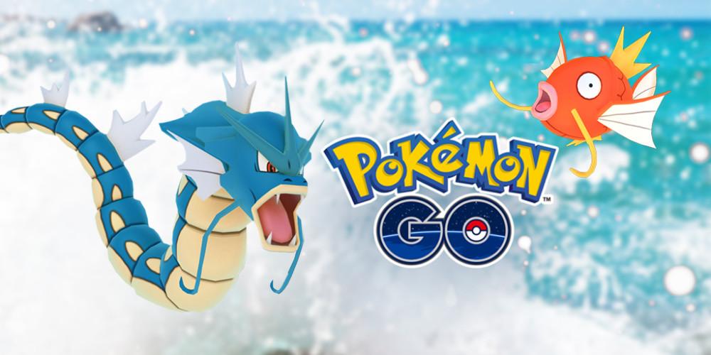 Pokemon Go Léviator Magicarpe