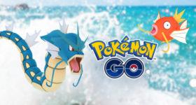 Pokémon Go Léviator Magicarpe
