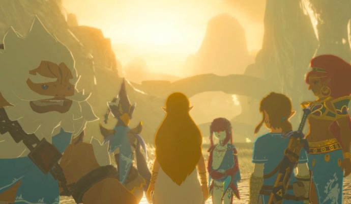 Breath of the Wild zelda et prodiges