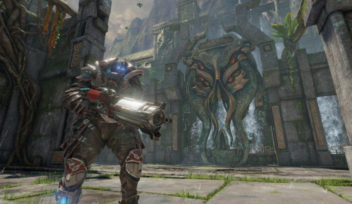 Quake Champions map