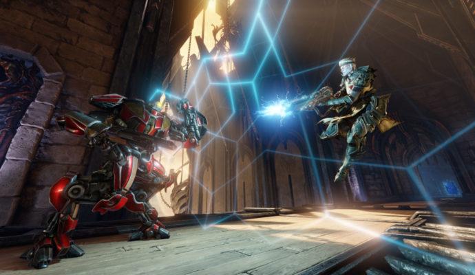 Quake Champions armes