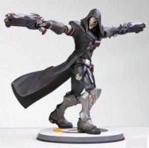Statuette produit dérivé Faucheur Reaper Bizzard Overwatch