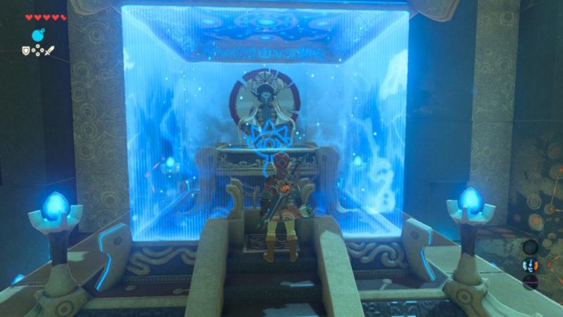 Breath of the Wild Sage sanctuaire