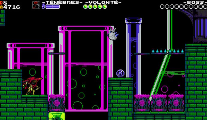 Test Shovel Knight: Specter of Tourment - Le laboratoire