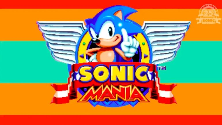 Sonic Mania Démarrage