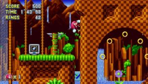 Sonic Mania Green Hill Zone 2 Knuckles