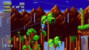 Sonic Mania Green Hill Zone 2 Sonic