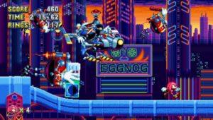 Sonic Mania Heavy gunner studiopolis