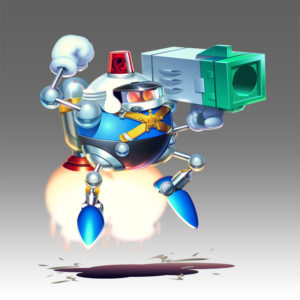 Sonic Mania Heavy Gunner