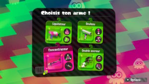 Splatoon 2 - Les armes