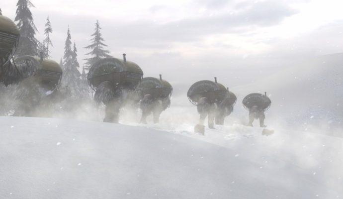 Syberia 3 Autruches des neiges