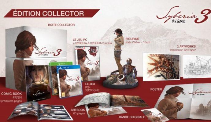 Syberia 3 édition collector