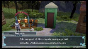 Test Digimon World: Next Order - Toilettes