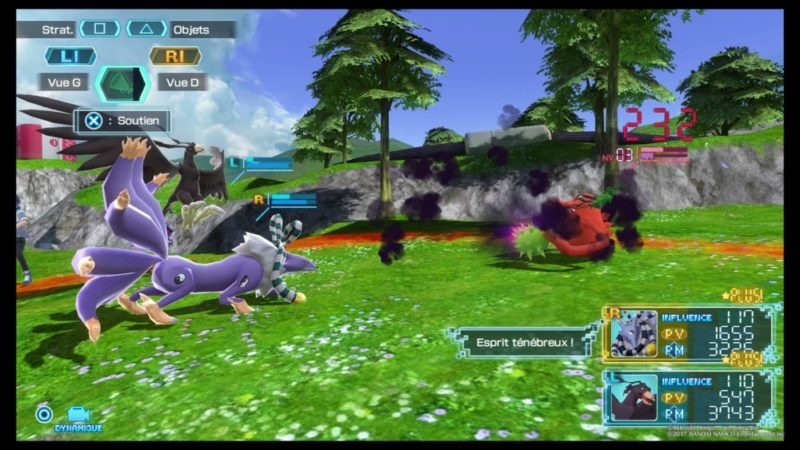 Test Digimon World: Next Order - Combat