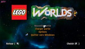 LEGO Worlds - ecran titre
