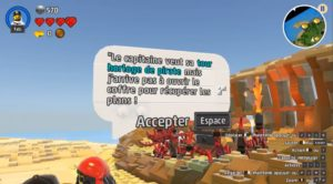 LEGO Worlds - quêtes