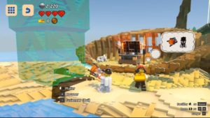 LEGO Worlds - grande construction