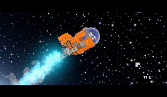 LEGO Worlds - voyage