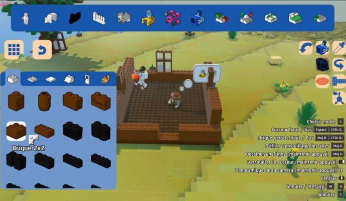 LEGO Worlds - construire 2