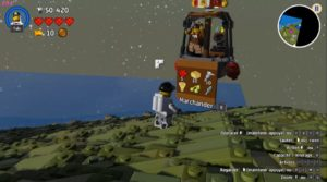 LEGO Worlds - marchand