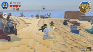 LEGO Worlds - armes