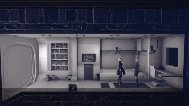Test NieR: Automata - Chambre de 2B