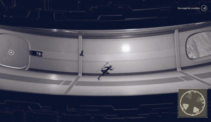 Test NieR: Automata - 2B dans la base spatiale