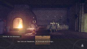 Test NieR: Automata - Le forgeron de la forêt