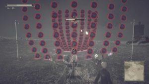 Test NieR: Automata - Partie Shoot'em up