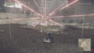 Test NieR: Automata - Boss rayon laser