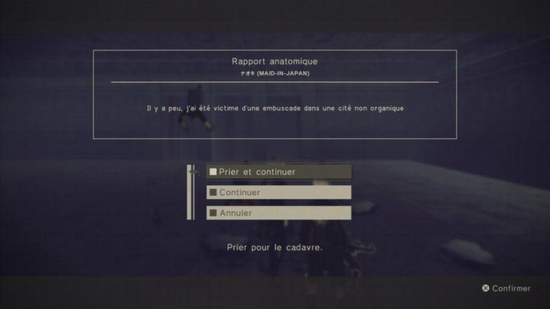 Test NieR: Automata - Interaction avec les autres joueurs