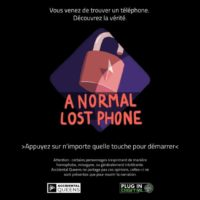 A Normal Lost Phone - Titre