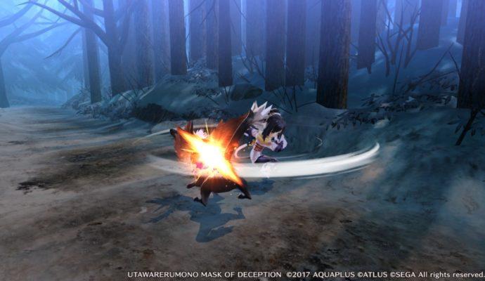 Utawarerumono: Mask of Deception combat