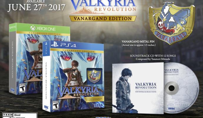 Valkyria Revolution édition Vanargand