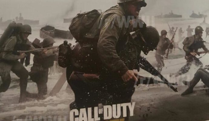 Call Of Duty WWII affiche