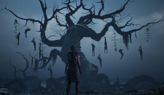 Hellblade: Senua's Sacrifice arbre aux pendus