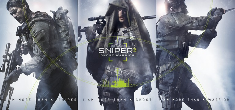 Différent personnages Sniper: Ghost Warrior 3
