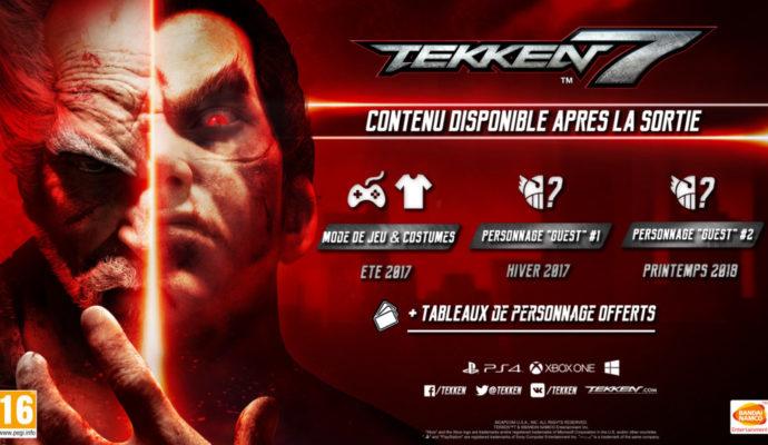 Tekken 7 - annonce