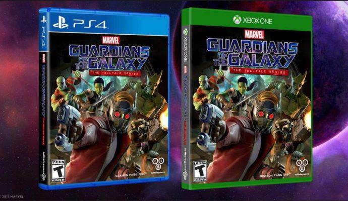 Les artworks des versions boîtes des Gardiens de la Galaxie