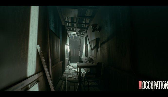 The Occupation sombre corridor.