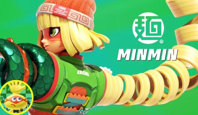 ARMS Minmin Nintendo Direct 2017