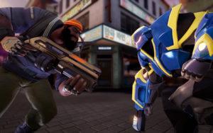 Agents of Mayhem combat