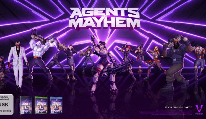 Agents of Mayhem image promotionnelle.