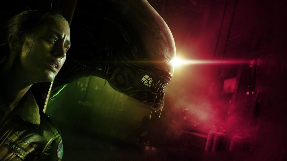 Alien: Isolation - Amanda Ripley et le Necromorphe