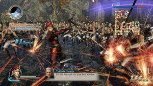 SAMURAI WARRIORS: Spirit of Sanada combat