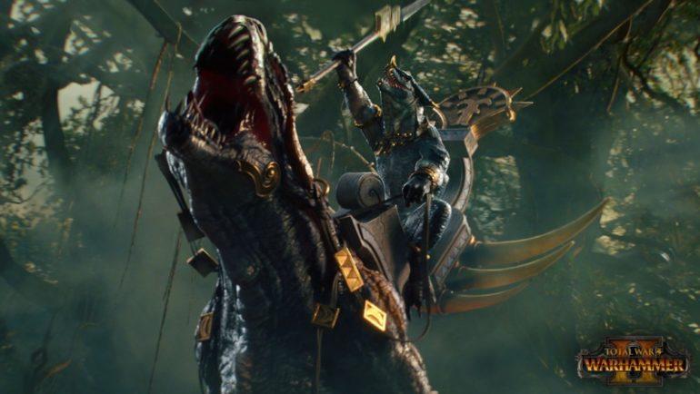 Total War: Warhammer II Carnosaure