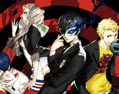 Persona 5 les Phantom Thieves