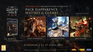 Warhammer 40,000: Dawn of War III Pack d'apparence